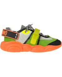 Moschino Sneakers Teddy Roller Skates - Multicolore