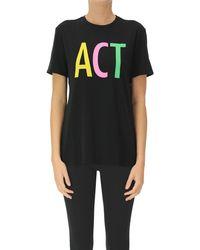 6397 T-shirt Act - Nero