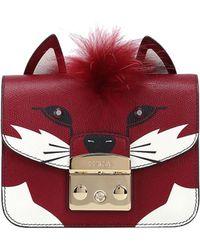 Furla - 'metropolis Jungle Fox' Mini Shoulder Bag - Lyst