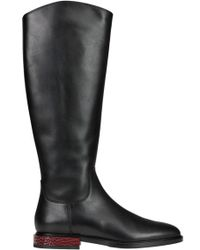Alberto Gozzi Leather Boots - Black