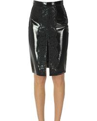 Pinko Vociare Pencil Skirt - Black
