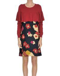 Suoli - Flower Print Dress - Lyst