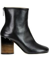 Maison Margiela Bicoloured Leather Ankle-boots - Multicolour