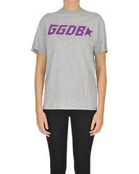 Golden Goose Deluxe Brand Gray Cotton T-shirt