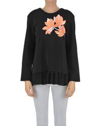 Marni - Structured Cloth Sweatshirt - Lyst