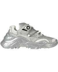 N°21 Billy Glittered Sneakers - Metallic