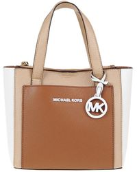MICHAEL Michael Kors Borsa Gemma in pelle martellata - Multicolore