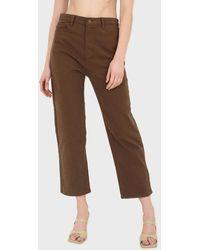 Glassworks Brown Mom Jeans - 200
