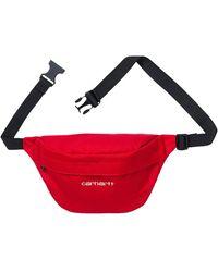 Carhartt WIP Payton Hip Bag 'cardinal/white'