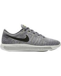 Nike Lunarepic Low Flyknit - Gray