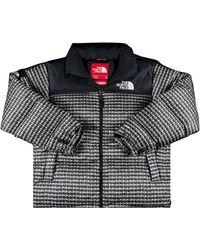 Supreme X The North Face Studded Nuptse Jacket 'black'