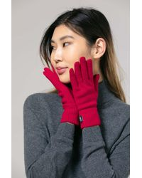 Gobi Cashmere USA - Basic Gloves - Lyst