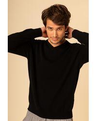 Gobi Cashmere USA V-neck - Black