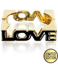 Goddiva Love Bangle* - Multicolor