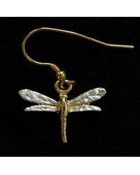 Simon Kemp Jewellers Dragonfly Earrings - Black