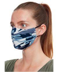 Goddiva Fashion Face Mask - Blue