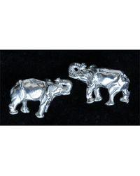 Simon Kemp Jewellers Elephant Earrings - Metallic