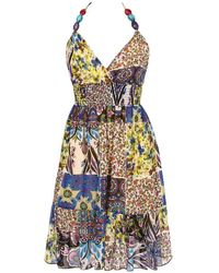 Goddiva Tiered Floral Dress (clearance) Was £25.00 - Multicolor