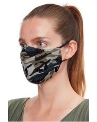 Goddiva Fashion Face Mask - Black