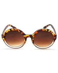 Storm 'euyte' Rounds Sunglasses - Brown