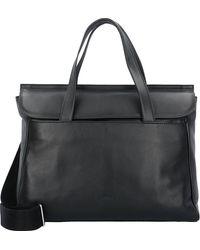 Bree , Stockholm 45 Handtasche Leder 38 Cm Laptopfach - Schwarz