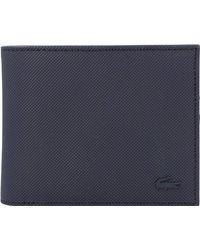 Lacoste , Men's Classic Geldbörse 11 Cm - Blau