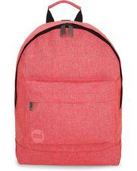 Mi-Pac , Crosshatch Backpack - Pink
