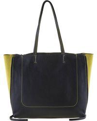 Mywalit , Rhodes Shopper Tasche Leder 36 Cm - Gelb