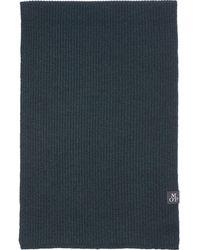 Marc O'polo , Strickschal Aus Softer Schurwolle-Qualität - Blau