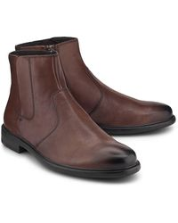 Geox , Chelsea-Boots Terence - Braun