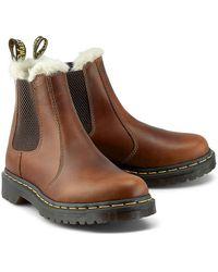 Dr. Martens Dr. Martens 2976 Leonore Butterscotch Braune Boots
