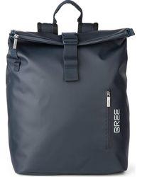 Bree , Pnch 731 Rucksack 43 Cm Laptopfach - Blau