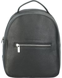 Cowboysbag , City Rucksack Leder 27 Cm - Schwarz