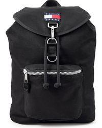 Tommy Hilfiger , Rucksack Tjm Heritage Flap Backpack - Schwarz