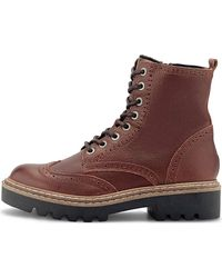 ANOTHER A , Brogue-Stiefelette - Braun