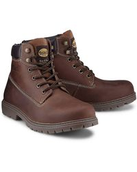 Dockers , Schnür-Boots - Braun