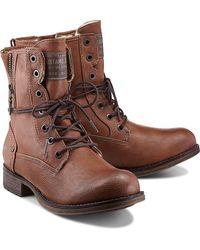 Mustang - , Schnür-Boots - Lyst