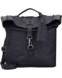 Cowboysbag , Jess Handtasche Leder 28 Cm - Schwarz