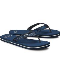 Esprit , Beach-Sandal Glitter - Blau