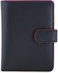 Mywalit , Large Wallet Geldbörse Leder 14 Cm - Blau
