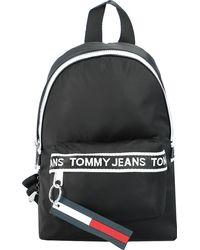 Tommy Hilfiger , Mini Logo Rucksack 19 Cm - Schwarz