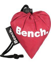 Bench , Faltbare Einkaufstasche 38 Cm - Rot