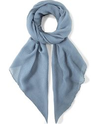 Codello , Plissee-Schal Urban Classic - Blau