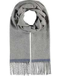 Fraas , Cashmink®-Schal Mit Fransen - Made In Germany - Grau