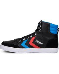 Hummel , Sneaker Stadil High - Schwarz