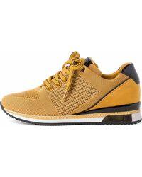Marco Tozzi , Sneaker - Gelb