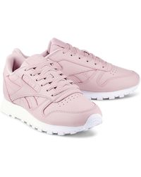 Reebok , Classic Leather - Pink