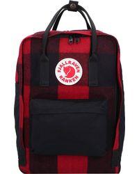 Fjallraven , Kanken Re-Wool Rucksack 40 Cm Laptopfach - Rot