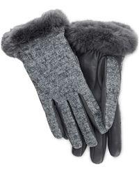 UGG , Handschuhe Fabric Leather Shorty - Grau