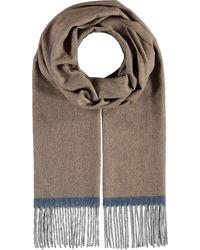 Fraas , Cashmink®-Schal Mit Fransen - Made In Germany - Mehrfarbig